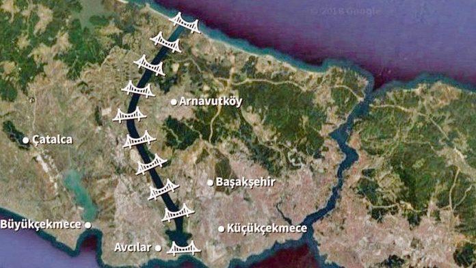 kanal istanbul arazi fiyatları